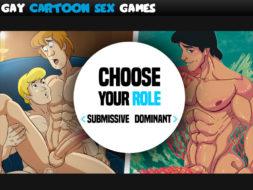 Gay Cartoon Sex Game